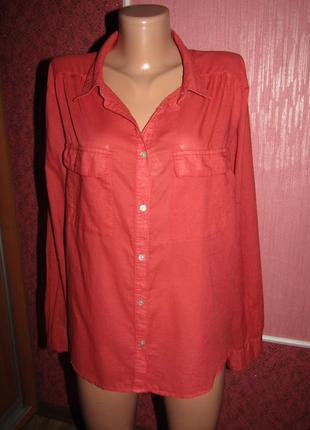 Рубашка большой р-р 18-20 бренд h&m2
