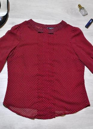 Красивая шифоновая рубашка - блуза - кофта