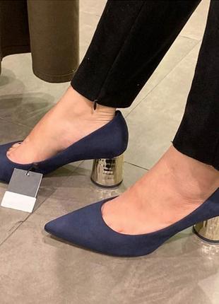 Фирменные красивые туфли на каблуке р.36, 37, 38, 39, 402