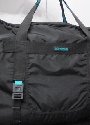 Огромная сумка 64х39х52 см jetstar сша водонепроницаемая дорожная