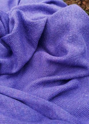 Сиреневый джемпер оверсайз красивый легкий свитер3