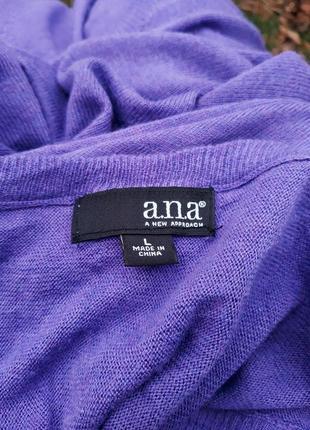 Сиреневый джемпер оверсайз красивый легкий свитер4