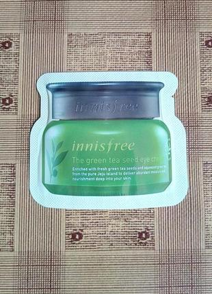 Крем под глаза innisfree green tea eye cream