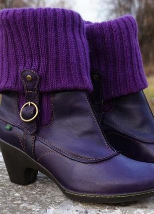 Жіночі ботінки, черевики el naturalista lila1