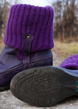 Жіночі ботінки, черевики el naturalista lila4