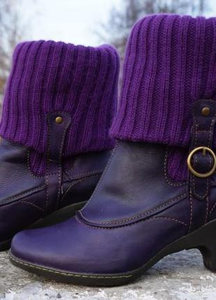 Жіночі ботінки, черевики el naturalista lila5