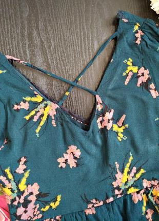 Классическая черная блуза с красивой спинкой5