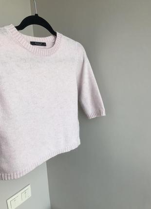 Укороченный ангоровый свитер mohito