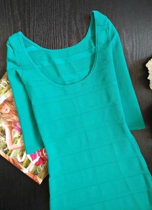 Бандажное платье3