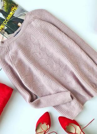 Красивый свитер 80% шерсть мериноса 20% кашемир woolovers1