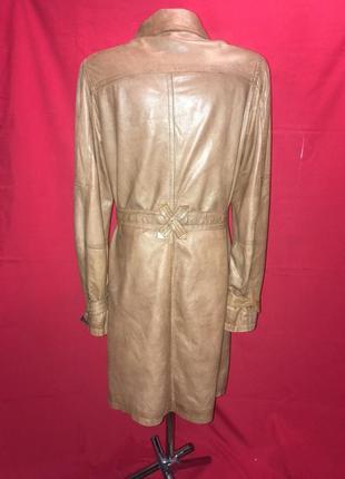Пальто кожа лайка🔥 цены демократичные - качество высокое - мировые бренды3
