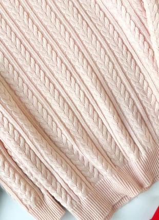 Стильный свитер в косы h&m4