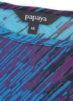 Блуза летняя шифоновая красивой расцветки papaya5
