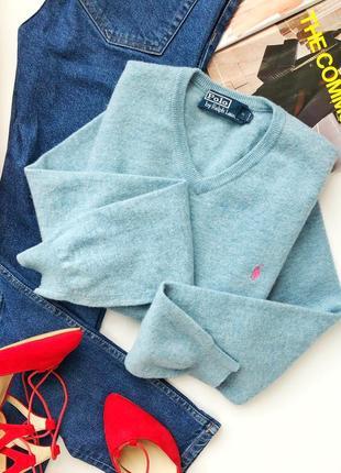 Эксклюзивный свитер 100% шерсть мериноса оригинпл ralph lauren1