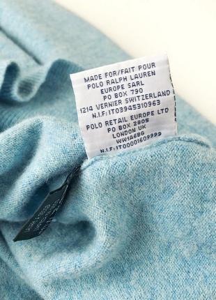 Эксклюзивный свитер 100% шерсть мериноса оригинпл ralph lauren2