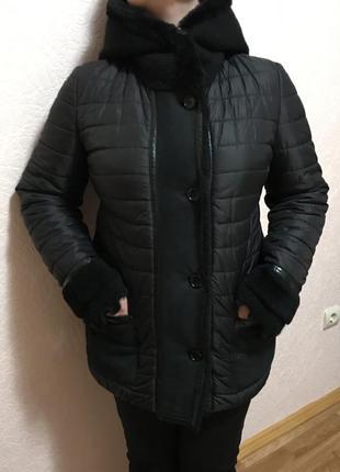Зимняя куртка италия nero bianco