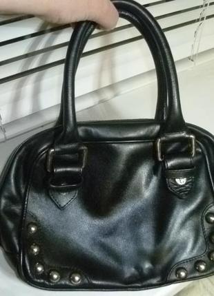 Маленькая кожаная натуральная сумка оригинал