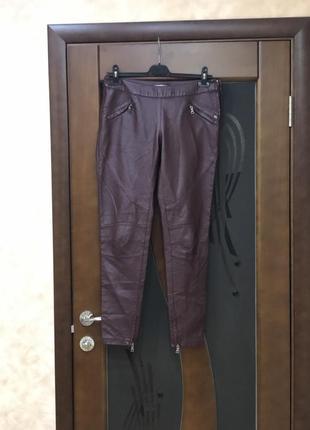Актуальные кожанные брюки, легинцы бренда orsay тренд 2019. супер!
