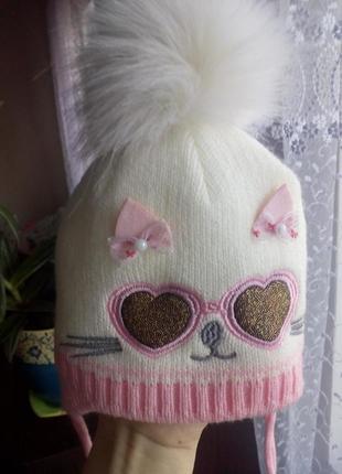 Новая теплая шапочка
