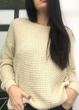 Тёплый свитер topshop