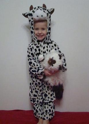 Новогодний костюм коровы 3- 4 года