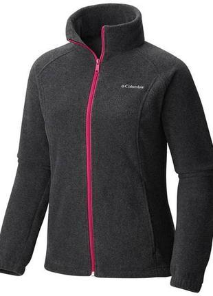Женская флисовая кофта columbia benton springs full zip fleece jacket
