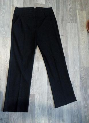 Классические теплые брюки со стрелками