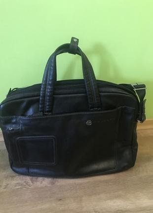 Piquadro сумка оригинал кожаная, как новая