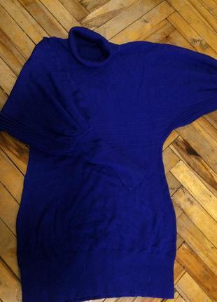 Туника/свитер/платье цвета электрик