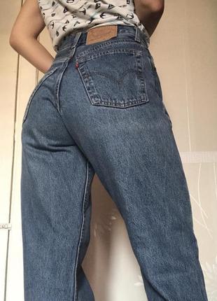 Джинсы бойфренды mom jeans levi's levis 501