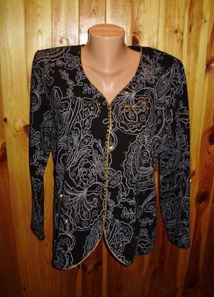 Нарядная кофточка/блуза для женщины/батал/54 размера