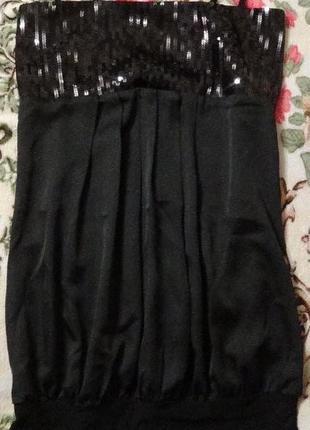 Новое клубное платье туничка