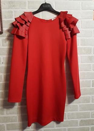 Дизайнерское мини платье от украинского дизайнера яны беляевой.