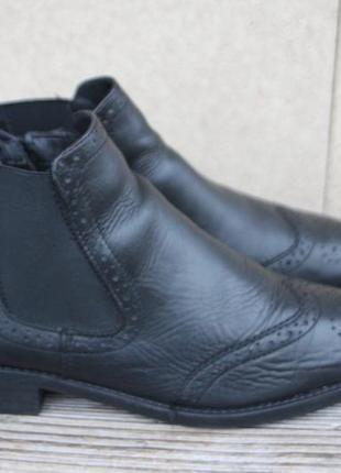 Ботинки челси tamaris германия кожа 40р