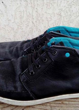 Кеды boxfresh англия кожа + канвас 44р кроссовки ботинки мужские