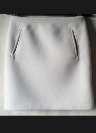Флисовый очень теплая юбка