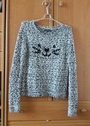 Милый свитер terranova