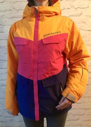Зимняя новая с этикетками лыжная спортивная термо куртка для сноуборда
