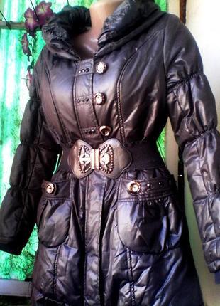 Отличное пальто на синтепоне