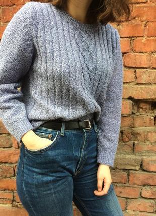 Мягкий свитер меланж