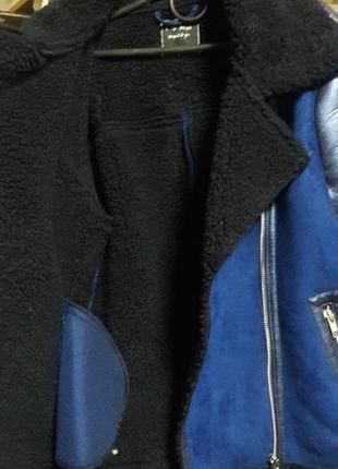 Дубленка, куртка на 11-12 лет4