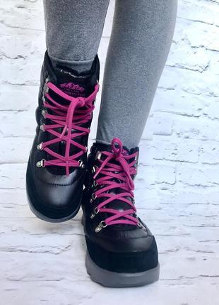 Новые оригинал с коробкой зимние непромокаемые ортопедические спортивные ботинки