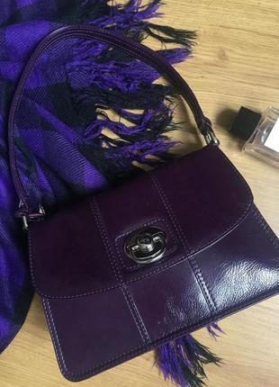 Роскошная брендовая кожаная сумка tula натуральная кожа англия