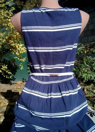 Стильное платье в морском стиле