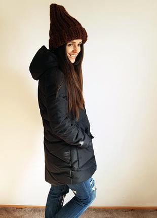 Пуховик черная теплая куртка лининг li-ning lining оригинал