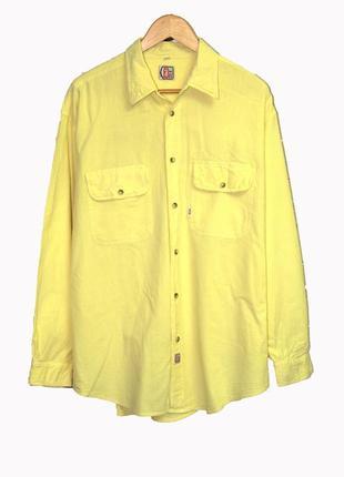 Яркая мужская рубашка жатка