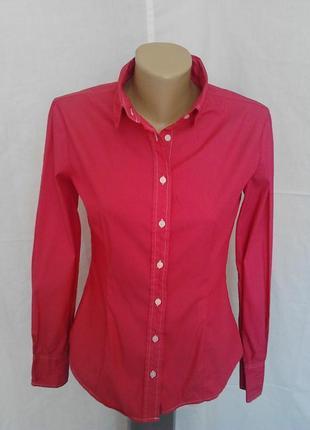 Крутая стильная рубашка,яркий цвет,качество amy gee италия