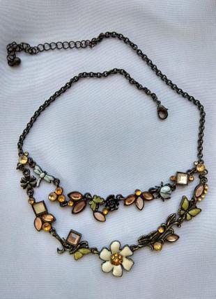 Винтажное колье ,ожерелье,украшение на шею2