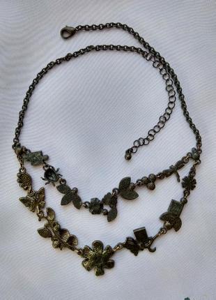 Винтажное колье ,ожерелье,украшение на шею4