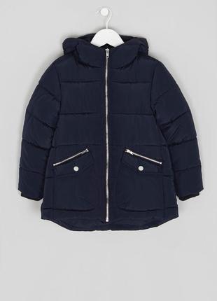 Шикарная теплая курточка matalan,еврозима. размеры 4,5,6,7,8,9 лет